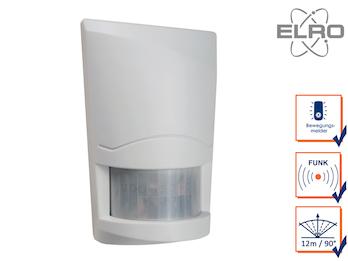 Bewegungsmelder 12m / 90° ELRO AG4000 Alarmsystem mit Wählgerät Hausalarmanlagen