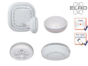 Connects K1 Rauch, Hitze & Wasser Melder Set - SMART HOME Sicherheit mit App