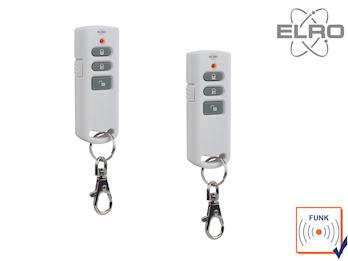 2er Set Funkfernbedienung Smart Home ELRO AG4000 Alarmsystem App gesteuert