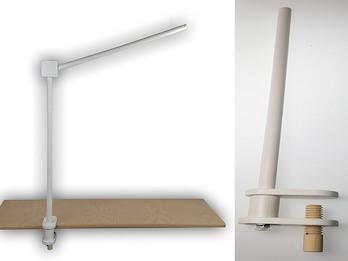 Mobile Halterung für Wickeltisch aus Holz, Mobilearm weiß extra groß 68x43 cm