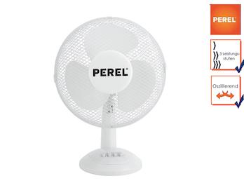 Tischventilator Ventilator Tischlüfter Ø 30cm 3 Stufen oszillierend 40W