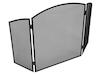 Faltbares Feuergitter / Funkenschutzgitter 94,5x60 cm für den Kaminofen