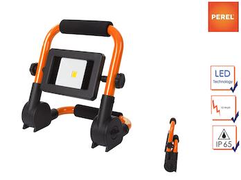 Klappbarer Baustrahler LED Fluter Arbeitsscheinwerfer 10W mit 1,5m Kabel
