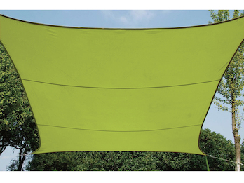 Sonnensegel Rechteckig 2x3m Grün - Sonnenschutzsegel für Balkon / Terrassensegel