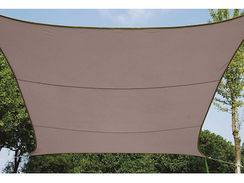 Sonnensegel Rechteckig 2x3m Braun Sonnenschutzsegel für Balkon / Terrassensegel