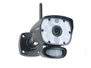 IP Kamera Outdoor mit Bewegungsmelder, Nachtsicht bis 12m, Steuerung per App