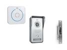 Video Sprechanlage mit Funktürklingel & Türöffner, Türkommunikation Smartphone