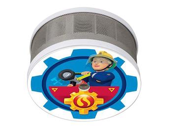 Mini Rauchmelder Feuerwehrmann Sam mit Motiv