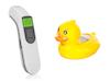 Badethermometer für Babys im Set mit Infrarot Fieberthermometer