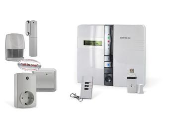 Sicherheits-/Heimautomationssystem mit Telefondialer und Mehrzonenüberwachung