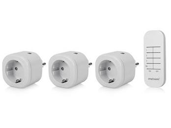 Funk Steckdosenset mit Fernbedienung für Leuchten und Geräte bis 3000W