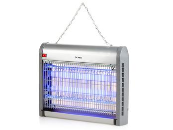 Insektenvernichter ohne Chemie 2x10W UV A-Lampe für 80m², hängend / stehend