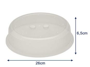 Mikrowellen Abdeckhaube, Durchmesser 26 cm