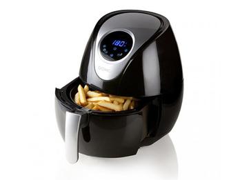 Digitale Low-Fett Heißluftfritteuse mit Deli Fryer frittieren ohne Öl, 3,5Ltr.