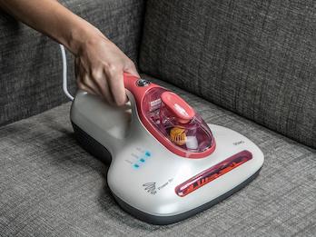 UV-Licht Milbensauger mit rotierender Bürste + Hepa-Filter ideal für Allergiker