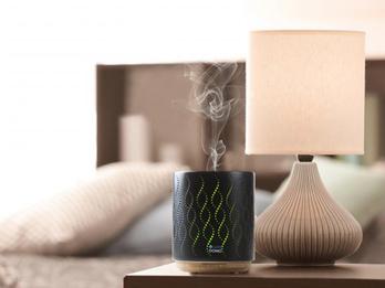 Ultraschall Duftzerstäuber für Aromatherapie mit LED Farbwechsler, 200ml