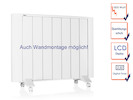 Mobile 1500W Elektroheizung mit Thermostat & Timer, auch Wandmontage möglich