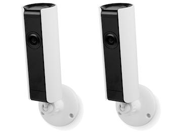Indoor IP Kameraset 180° mit Nachtsicht & Mikrophon, HD-Auflösung, Appsteuerung