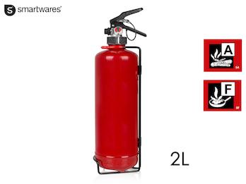 Handlicher Feuerlöscher / Fettbrandlöscher 2L, Brandklasse A, F