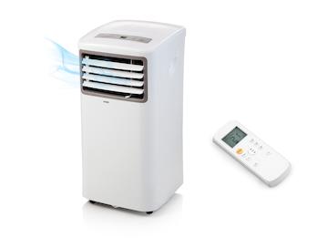 Mobile Klimaanlage mit Timer für 20m2 Räume, Ventilator und Luftentfeuchter