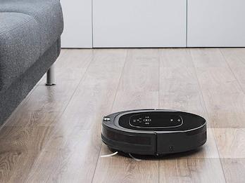 App gesteuerter Staubsaugerroboter Alexa kompatibel mit HEPA-Ersatzfilter