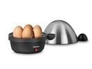 Eierkocher mit Edelstahl-Deckel, für 7 Eier, Stop-Signal, Kontroll-Lampe