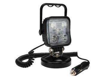 LED Scheinwerfer Arbeitsleuchte mit Magnet, Werkstattlampe 15 Watt