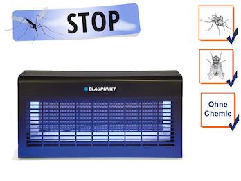 LED Profi Insektenvernichter mit UV-A LED-Leiste, Wirkungskreis bis 250 m²