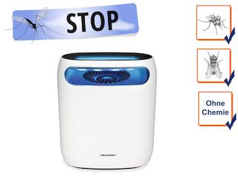 Insektenvernichter mit UV LED, Ansaugventilator & Timer, Wirkungskreis bis 60 m²