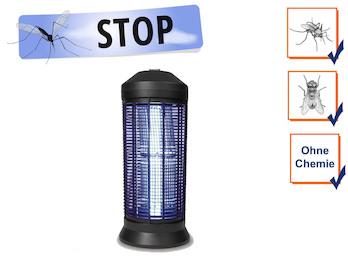 Profi Insektenvernichter Stechmückenfalle mit UV Licht, Bereich 600m²