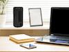 MINI Tischlüfter Säulenventilator im 3er Set 14W - leise für Schlafzimmer & Büro