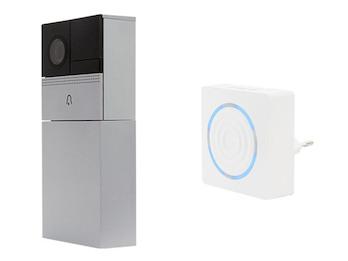 Wifi Video Türsprechanlage mit Funk Zusatzgong, Nutzung mit Smartphone App