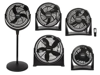 Ventilatoren - Standlüfter & Wandlüfter auch als Tischventilatoren nutzbar