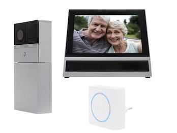 Wifi Videosprechanlage mit Monitor & Klingel, Bewegungssensor & Aufzeichnung