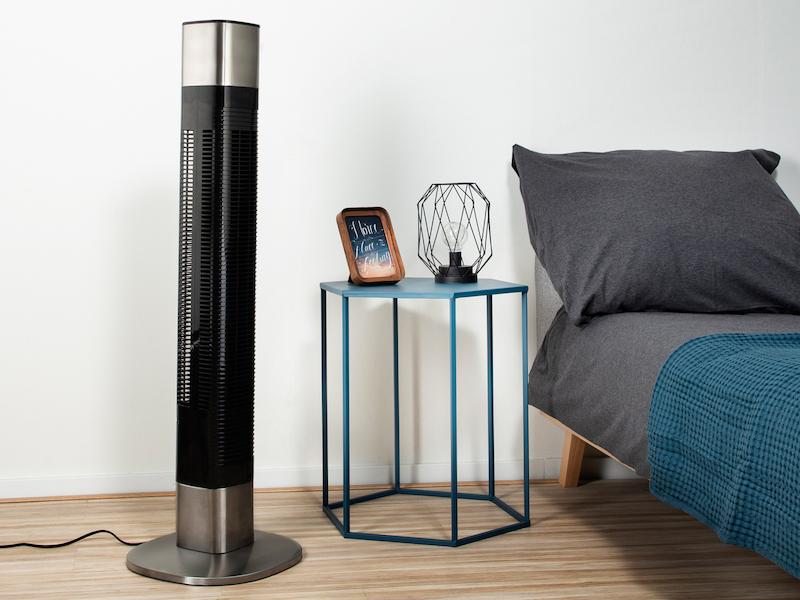 SMART Säulenventilator App gesteuert mit Timer & 3 Stufen 50 Watt