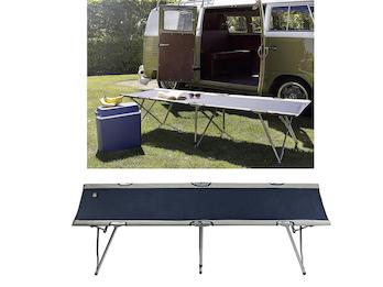 Klappbare Feldbetten 2er Set ein praktisches Gästebett mit Transporttasche, Blau
