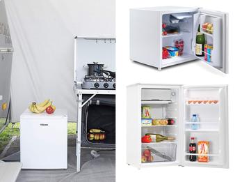 Kühlschränke mit Gefrierfach (MINI 45L & KLEIN 82L) ideal für Camping