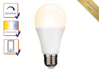 Intelligentes E27 Zusatz Funk Leuchtmittel Smarthome PRO - dimmbar & Farbwechsel