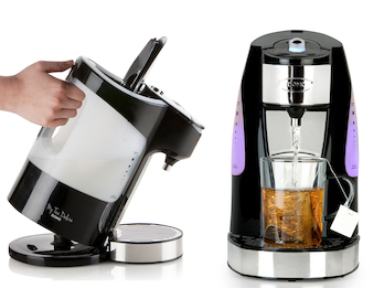 Express TEAMAKER 3000Watt schnell mit LED Teewasserkocher 200ml in 45 Sekunden