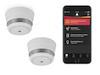 Starterset: App gesteuerte MINI Funkrauchmelder mit Basisstation - SmartHome PRO