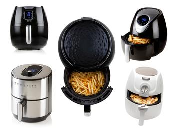 Heißluftfritteusen ohne Öl - Crispy Fryer von Mini, Groß bis XXL, 1,6 - 5,2Liter