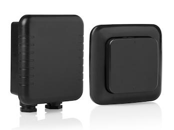 Funkschalter-Set für den Außenbereich - Funkwandschalter und Funkeinbauschalter