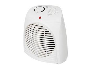 Elektrischer Heizlüfter mit 2 Heizstufen, Ventilator-Funktion und Thermostat