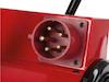15000 Watt Profi Bauheizer mit Rädern, 3 Stufen Elektro Baustellenheizung