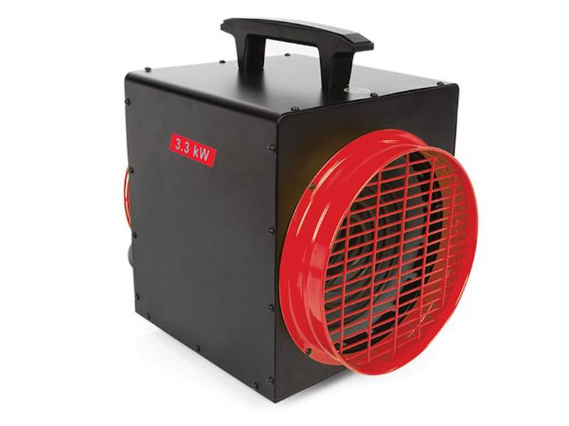 3300 Watt Heizlüfter mit Thermostat, elektrische Werkstattheizung