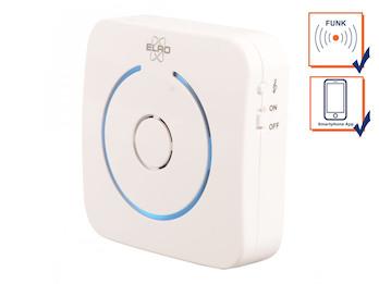 Zusatz Funktürklingel für ELRO Video Türsprechanlage DVC040IP & DVC040IP2