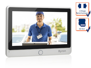 Zusatz Monitor mit HD Touchscreen für DIC Video Türsprechanlagen 24112 & 24122