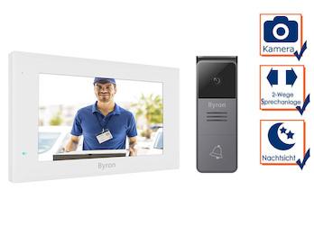 Einfamilienhaus Video Türsprechanlage mit Nachtsichtkamera & 7
