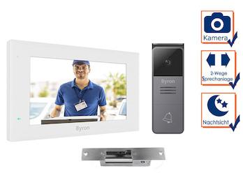 """Einfamilienhaus Video Türsprechanlage mit Kamera, 7"""" Touchscreen & Türöffner"""