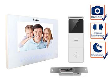 Moderne Einfamilienhaus Video Türsprechanlage mit Kamera, 7